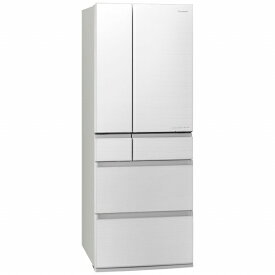 パナソニック Panasonic 《基本設置料金セット》NR-F606WPX-W 冷蔵庫 WPXタイプ フロスティロイヤルホワイト [6ドア /観音開きタイプ /600L][冷蔵庫 大型]