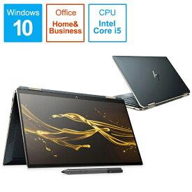 HP エイチピー 8WH35PA-AAAB ノートパソコン Spectre x360 13-aw0155TU-OHB ポセイドンブルー [13.3型 /intel Core i5 /SSD:512GB /メモリ:8GB /2019年12月モデル][13.3インチ office付き 新品 windows10 8WH35PAAAAB]