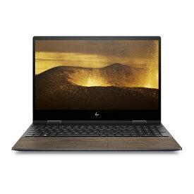 HP エイチピー 8WE02PA-AAAA ノートパソコン ENVY x360 15-dr1015TU-OHB ナイトフォールブラック & ナチュラルウォールナット [15.6型 /intel Core i7 /SSD:512GB /メモリ:8GB /2019年12月モデル][15.6インチ office付き 新品 windows10 8WE02PAAAAA]