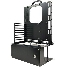 長尾製作所 NAGAO INDUSTRY PCケース オープンフレーム ver.ATX ブラック N-FRAME-ATX