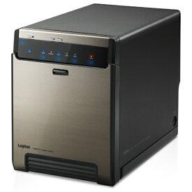 エレコム ELECOM LGB-4BNHUC HDD/SSDケース USB-C 3.2接続 ブラック [SATA /4台 /3.5インチ&2.5インチ対応]