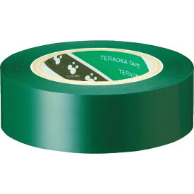 寺岡製作所 Teraoka Seisakusho TERAOKA ポリエステルフィルム粘着テープNO.631S #25緑 19mm×30m