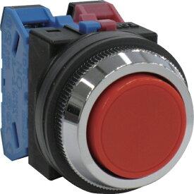 IDEC アイデック IDEC 平形押しボタンスイッチ 赤