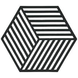 ゾーン ZONE トリベット Hexagon ブラック 330135