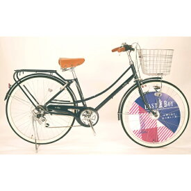 イーストボーイ EASTBOY 26型 自転車 EASTBOY CASUAL FAMILY(ブルー/外装6段変速) 20EB266CF【2020年モデル】 【代金引換配送不可】