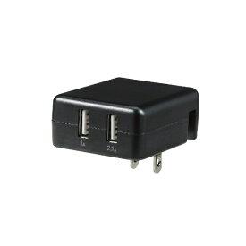 ELPA エルパ AC - USB充電器 タブレット・スマホ対応 2.1A [2ポート:USB-A] USB-AC100