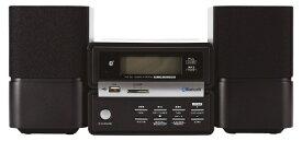 ORIGINAL BASIC オリジナルベーシック XR-BU30B ミニコンポ ブラック [ワイドFM対応 /Bluetooth対応][CDコンポ]【point_rb】