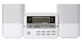 ORIGINAL BASIC オリジナルベーシック XR-BU30W ミニコンポ ホワイト [ワイドFM対応 /Bluetooth対応][CDコンポ]【point_rb】
