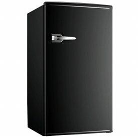 ウィンコド WINCOD 《基本設置料金セット》RT-185B レトロ冷蔵庫 TOHO TAIYO ブラック [1ドア /右開きタイプ /85L][RT185B]