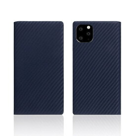 ROA ロア iPhone11 Pro carbon leather case Navy