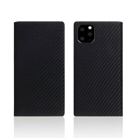 ROA ロア iPhone11 Pro carbon leather case Black