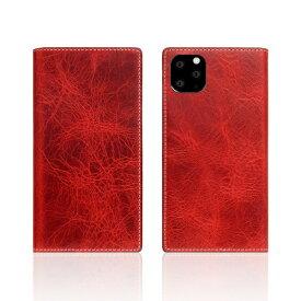 ROA ロア iPhone11 Pro Badalassi Wax case レッド