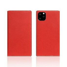 ROA ロア iPhone11 Pro Minerva Box Leather Case レッド