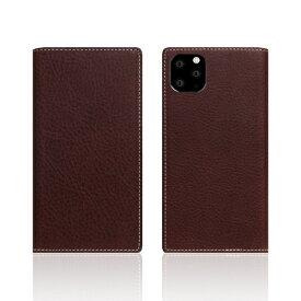 ROA ロア iPhone11 Pro Minerva Box Leather Case ブラウン