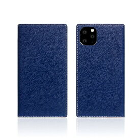 ROA ロア iPhone11 Pro Full Grain Leather Case Navy Blue
