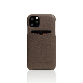 ROA ロア iPhone11 Pro Full Grain Leather Back Case etoffe Cream