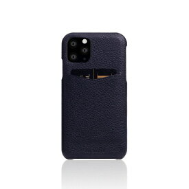 ROA ロア iPhone11 Pro Full Grain Leather Back Case Black Blue