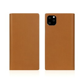 ROA ロア iPhone11 Pro Calf Skin Leather Diary Camel