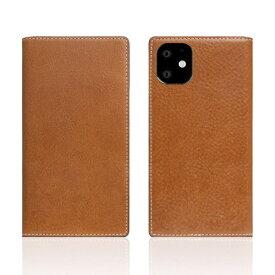 ROA ロア iPhone11 Tamponata Leather case Tan