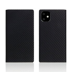 ROA ロア iPhone11 carbon leather case Black