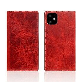 ROA ロア iPhone11 Badalassi Wax case レッド