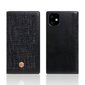 ROA ロア iPhone11 Edition Calf Skin Leather Diary ブラック