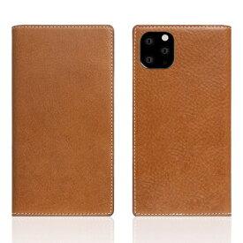 ROA ロア iPhone11 ProMax Tamponata Leather case Tan