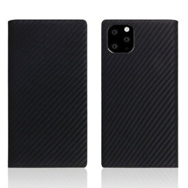 ROA ロア iPhone11 ProMax carbon leather case Black