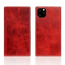 ROA ロア iPhone11 ProMax Badalassi Wax case レッド