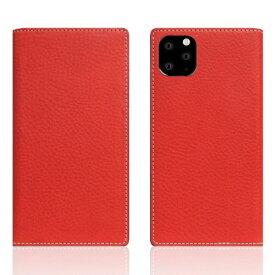 ROA ロア iPhone11 ProMax Minerva Box Leather Case レッド