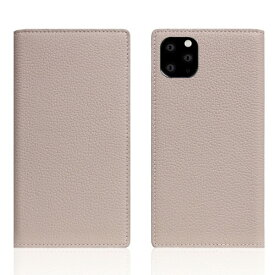 ROA ロア iPhone11 ProMax Full Grain Leather Case Light Cream