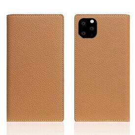 ROA ロア iPhone11 ProMax Full Grain Leather Case Caramel Cream