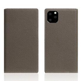 ROA ロア iPhone11 ProMax Full Grain Leather Case Etoffe Cream