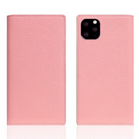 ROA ロア iPhone11 ProMax Full Grain Leather Case Light Rose