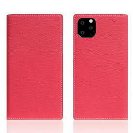 ROA ロア iPhone11 ProMax Full Grain Leather Case Pink Rose