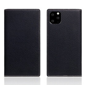 ROA ロア iPhone11 ProMax Full Grain Leather Case Black Blue