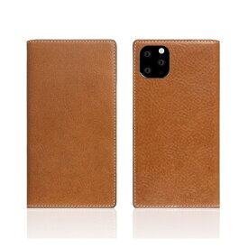 ROA ロア iPhone11 Pro Tamponata Leather case Tan