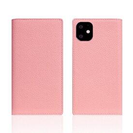 ROA ロア iPhone11 Full Grain Leather Case Light Rose