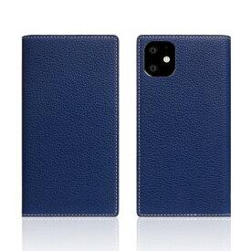 ROA ロア iPhone11 Full Grain Leather Case Navy Blue