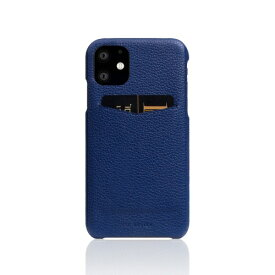 ROA ロア iPhone11 Full Grain Leather Back Case Navy Blue