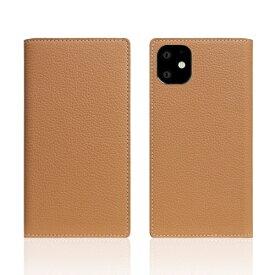 ROA ロア iPhone11 Full Grain Leather Case Caramel Cream