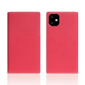ROA ロア iPhone11 Full Grain Leather Case Pink Rose