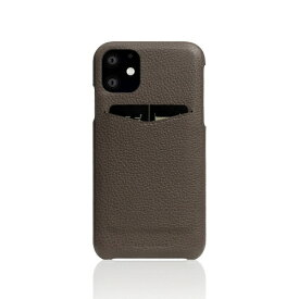 ROA ロア iPhone11 Full Grain Leather Back Case etoffe Cream