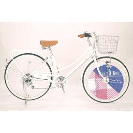 イーストボーイ EASTBOY 26型 自転車 EASTBOY CASUAL FAMILY(ホワイト/外装6段変速) 20EB266CF【2020年モデル】 【代金引換配送不可】