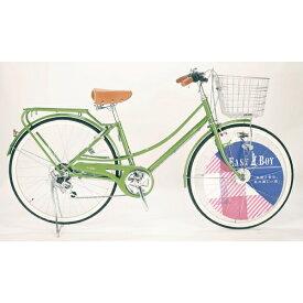 イーストボーイ EASTBOY 26型 自転車 EASTBOY CASUAL FAMILY(オリーブ/外装6段変速) 20EB266CF【2020年モデル】 【代金引換配送不可】