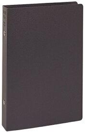 レイメイ藤井 リングファイル [聖書サイズ /縦 /6穴 /リング20mm] リフィルファイル ブラック WBF500B