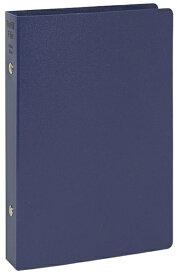 レイメイ藤井 リングファイル [聖書サイズ /縦 /6穴 /リング20mm] リフィルファイル ネイビー WBF500K