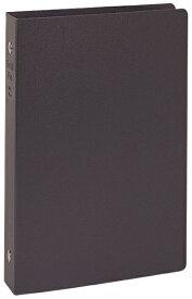 レイメイ藤井 リングファイル [A5 /縦 /6穴 /リング25mm] リフィルファイル ブラック WAF701B