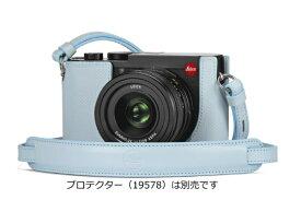 ライカ Leica ライカQ2用ストラップ ライトブルー