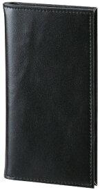 レイメイ藤井 グロワール 合皮製カードホルダー 縦型8段 ブラック GLH1501B